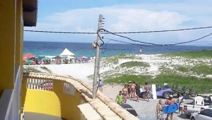 Duplex Cabo Frio-opposite the beach dunes