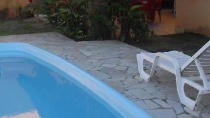 Rent Home w/pool on the BEACH in CARAGUATATUBA.