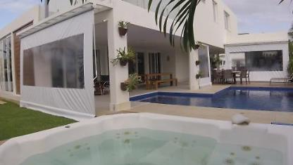 4 Hydro Pool suites mansion on the beach in Aracaju