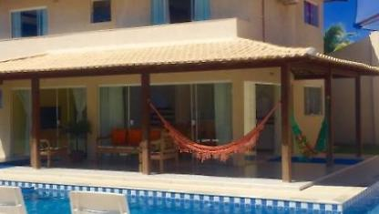 Geribá 4 suites w/air, private pool, Wi-FI