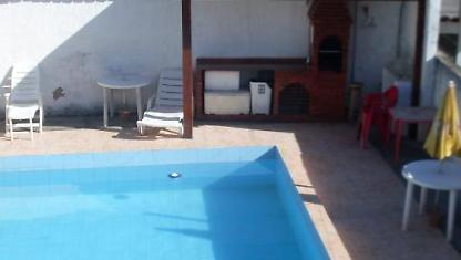 Flat1-Sala/room-Pool and Barbecue