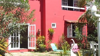 House 4 Apartments on the edge of the sea on the island of Itaparica