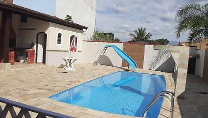 Itanhaém C\piscina .4 House Car Places. 4 Rooms