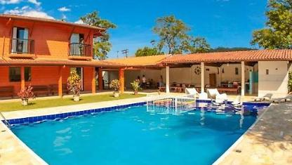 Pool House-ubatuba/maranduba-20 People