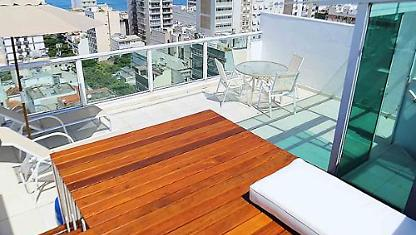 1 coverage Qto in Ipanema with panoramic view
