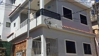House with beautiful view of downtown São Thomé