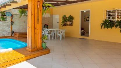3 Bedroom House with a pool on the beach of Campeche.